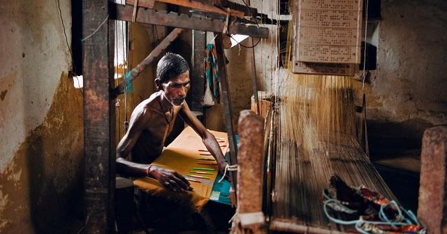 The weavers of Varanasi