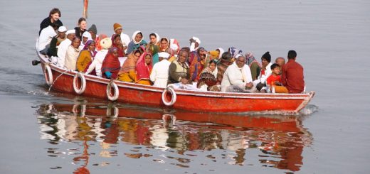 Boat ride in the Morning of Varanasi