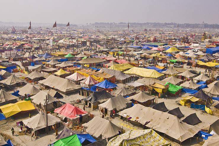 Dormitory tent package for Allahabad Kumbh mela 2019
