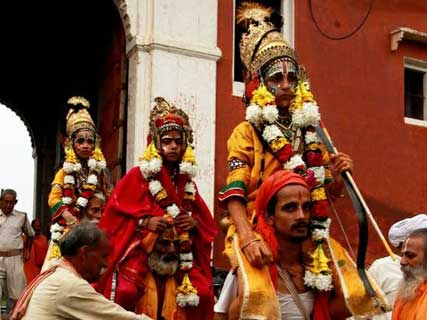 Guided Ramlila Viewing in Varanasi